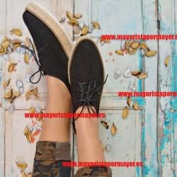 Zapatillas lona mujer al...