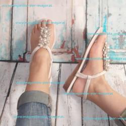 Venta de sandalias planas...
